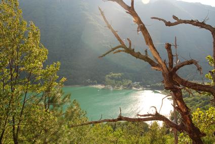Pogled na Boracko jezero