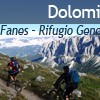 Dolomiti 2011: Tuširanje na žeton i zalazak sunca na 2300mnv: Fanes – Rifugio Genova (4.dan)