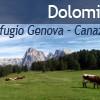 Dolomiti 2011: Zatvaramo krug: Rifugio Genova – Canazei (5.dan)
