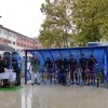<p> Na gradskom košarkaškom igralištu Bigram, u centru Bihaća, ovog vikenda je otvoreno prvo moderno natkriveno parkiralište za bicikla, kapaciteta deset mjesta. Za postavljanje objekta, izgrađenog...</p>