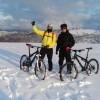 Biciklizam zimi uz Smetove (Zenica)