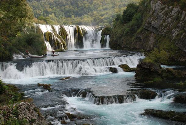 Nacionalni park Una, Štrbački buk