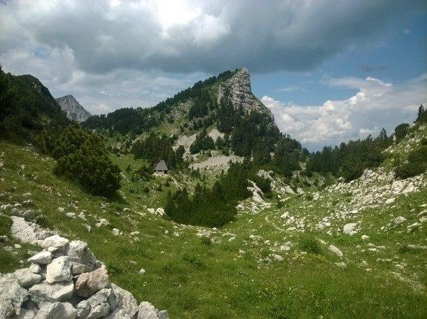 Jezerce podno Taraša
